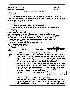 Giáo án Vật lý 9 - Tiết 55-58 - Năm học 2015-2016 - Nguyễn Thị Thu