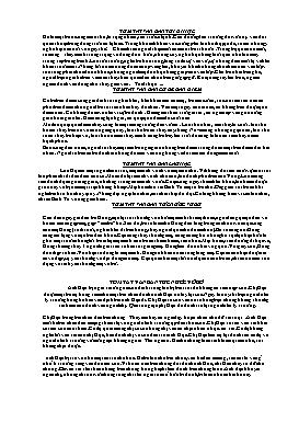 Tóm tắt các văn bản Ngữ văn 8 - Tập 1