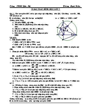 50 Bài toán hình học lớp 9 - Phùng Mạnh Điềm
